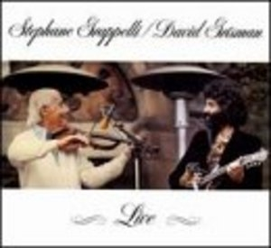Stephane Grappelli And David Grisman Live album cover