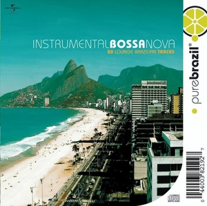 Pure Brazil: Instrumental Bossa Nova album cover