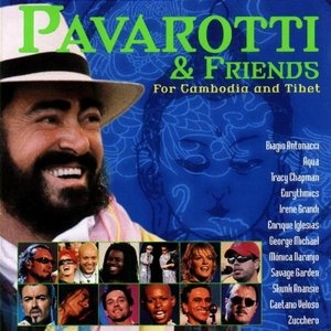 Pavarotti & Friends: For Cambodia And Tibet album cover