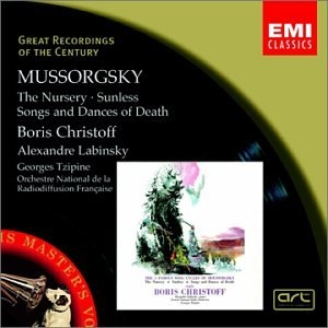 Mussorgsky: The Nursery, Sunless, Songs & Dances Of Death album cover
