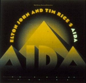 Elton John And Tim Rice's Aida album cover