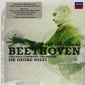 Beethoven: The Symphonies album cover