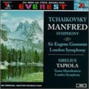 Tchaikovsky: Manfred Symphony album cover