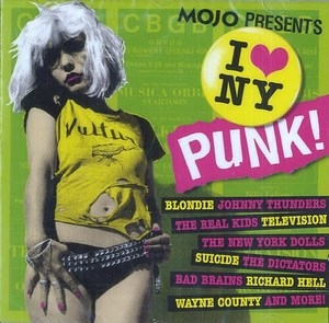 Mojo Presents: I Love NY Punk! album cover