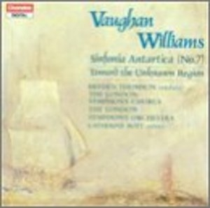 Vaughan Williams: Sinfonia Antartica album cover