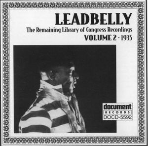 Remaining Library Of Congress Recordings-Vol.2 (1935) album cover