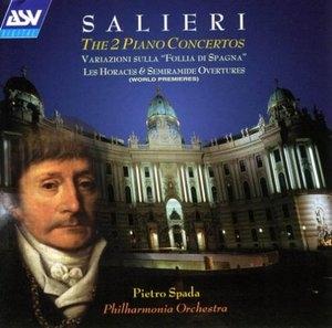 Salieri: Piano Concertos album cover
