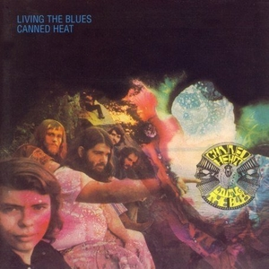 Living The Blues album cover