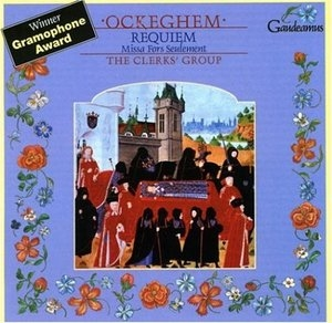 Ockeghem: Requiem album cover