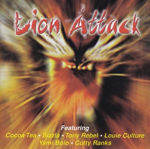 Lion Attack album cover