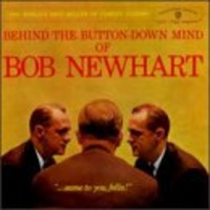 Behind The Button-Down Mind Of Bob Newhart album cover