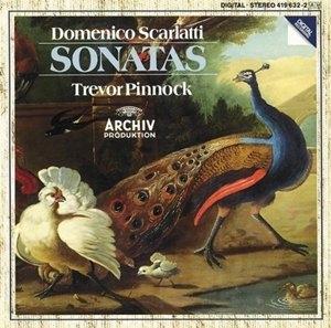 Domenico Scarlatti-Sonatas album cover