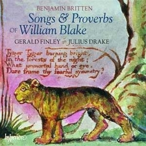 Britten: Songs & Proverbs Of William Blake album cover