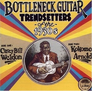 Bottleneck Guitar Trendsetters Of The 1930's album cover