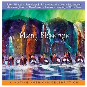 Many Blessings: A Native American Celebration album cover