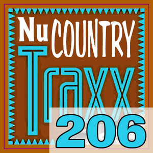 ERG Music: Nu Country Traxx, Vol. 206 (June 2016) album cover