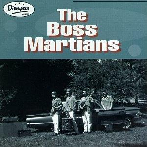 The Boss Martians album cover