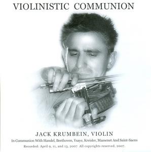 Violinistic Communion album cover