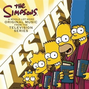 The Simpsons: Testify album cover