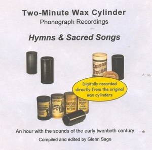 Wax Cylinder: Hymns And Sacred Songs album cover
