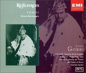 Verdi: Simon Boccanegra album cover