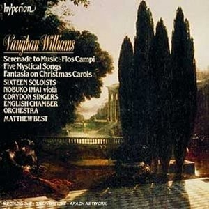 Vaughan Williams: Serenade To Music~ Flos Campi album cover