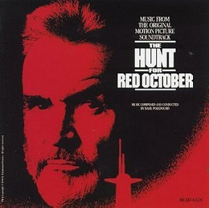 The Hunt For Red October Movie Score album cover
