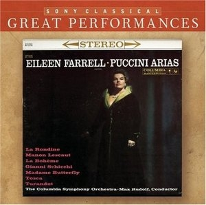 Puccini Arias And Others In The Great Tradition album cover