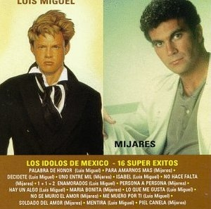 Los Idolos De Mexico album cover