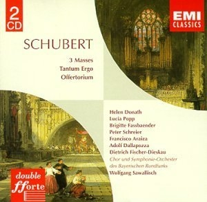 Schubert: 3 Masses album cover