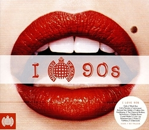 Ministry Of Sound: I Love 90s album cover