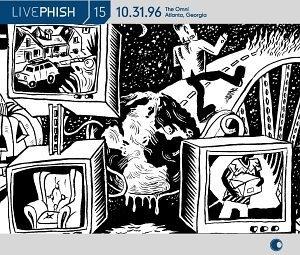 Live Phish Vol.15 album cover
