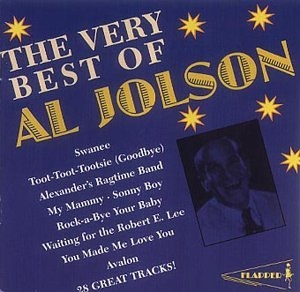 The Very Best Of Al Jolson (Pearl) album cover