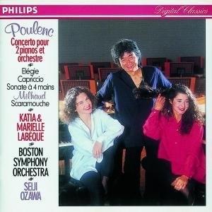 Poulenc: Concerto Pour 2 Pianos Et Orchestre album cover