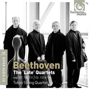 Beethoven: The 'Late' String Quartets album cover