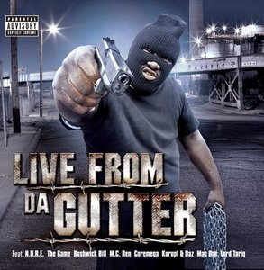 Live From Da Gutter album cover