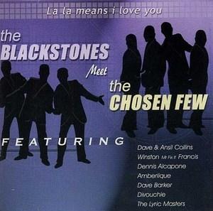 The Blackstones Meet The Chosen Few: La La Means I Love You album cover