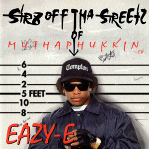 Str8 Off Tha Streetz Of Muthaphukkin' Compton album cover