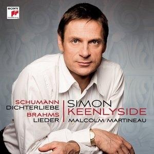 Schumann: Dichterliebe, Brahms:Lieder album cover
