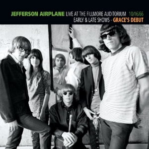 Live At The Fillmore Auditorium 10-16-66: Early & Late Shows, Grace's Debut album cover