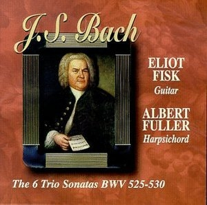 JS Bach:The 6 Trio Sonatas BWV 525-530 album cover