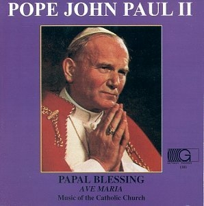 Papal Blessing~ Ave Maria album cover