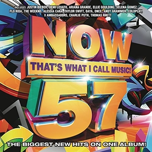 Now That's What I Call Music 57 album cover