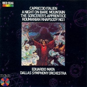 Capriccio Italien, Night On Bare Mountain album cover