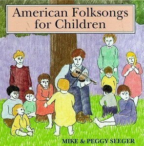 American Folksongs For Children album cover
