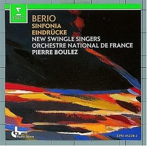 Berio: Sinfonia~ Eindrücke album cover