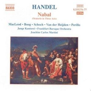 Handel: Nabal album cover