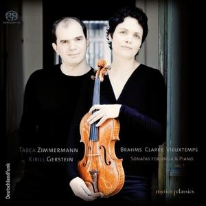 Sonatas For Viola & Piano Vol. 1 album cover
