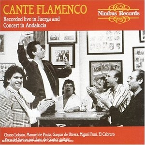 Cante Flamenco: Recorded Live In Juerga & Concert In Andalucia album cover