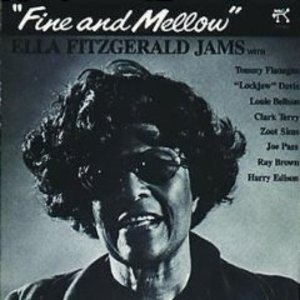 Fine And Mellow: Ella Fitzgerald Jams album cover